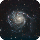 M101, The Pinwheel Galaxy,                                mlewis