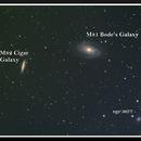 Bode's Galaxy (M81)  Cigar Galaxy (M82) ,                                DrRMM
