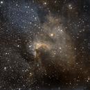 C9 SH 2-155  Cave Nebula,                                Albert  Christensen