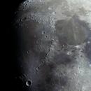 Moon in 20 panel mosaic,                                Bert Scheuneman
