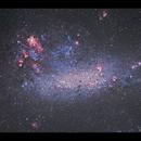 The Large Magellanic Cloud with the Tarantula Nebula,                                Göran Nilsson