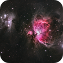 The Great Nebula in Orion and the Running Man,                                urmymuse