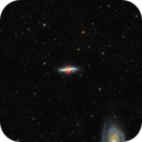 M82, Cigar Galaxy / And M81is going to smoke the cigar ;-),                                Francesco
