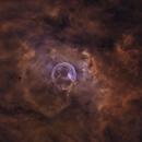 Bubble nebula, starless,                                Ola Skarpen SkyEyE