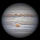 Jupiter 19 Apr 2018 - Animation - North up,                                Seb Lukas