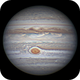 Jupiter 19 Apr 2018 - Animation - North up,                                Seb Lukas