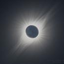 Solar Total Eclipse - Solar Corona 2019,                                elvethar