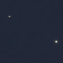 Saturn und Jupiter in Konjunktion,                                Horst Twele