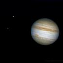 Jupiter, Europe et Ganymède,                                vincent.prouvoyeur
