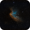 NGC7380 The Wizard Nebula,                                George C. Lutch