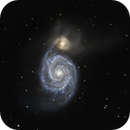 M51 The Whirlpool Galaxy,                                Wes Higgins