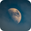 Moon and clouds, mid April 2018,                                Donnie B.