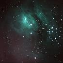 M8 Lagoon Nebula, UHC filter,                                Adel Kildeev