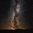 Milky way as seen from Villalunga, Italy,                                Njål Brekke