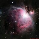M42 Orion Nebula,                                Jenke ter Horst