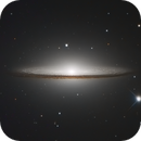 Sombrero NGC 4594 (M104) with RC8,                                Rod Kennedy