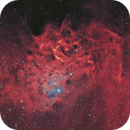 Ic 405- la nébuleuse de l'étoile flamboyante HOO,                                astromat89