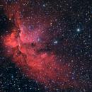 NGC 7380 - Wizard Nebula,                                Fernando Martínez