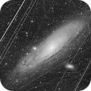The Andromeda Galaxy in a crowded Sky,                                Kees Scherer