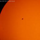 attività solare  2021-05-10   h. 08, 37minuti,                                Carlo Colombo
