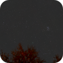 Comet 46P/Wirtanen and the Pleiades on 12/17/2018 (A brief glimpse),                                JDJ