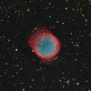 NGC6781, a close-up LRGB, NB image, CPH, Denmark,                                Niels V. Christensen