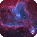 Heart Nebula in narrowband and LRGB style color editing (IC1805),                                Sven Hoffmann