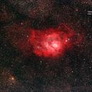 Lagoon Nebula,                                Astro-Rudi