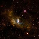 Bubble nebula (SHO),                                Andrew Gutierrez