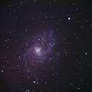 Messier 33, Triangulum Galaxy,                                galaxy_sundowner