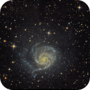 M 101 After much help from Ivo Jager StarTools,                                Tom Robbe