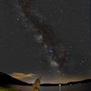Milky Way from Canton, Maine,                                Steve Coates