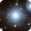 Alcyone inside Pleiades (M45),                                Denis Bergeron