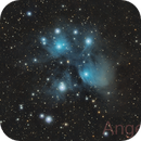 M45 the Pleiades or Seven Sisters,                                Angelillo