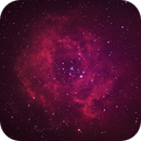 Rosette Nebula with DSLR and h-alpha clipfilter,                                AstroForum