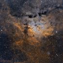 Sh2-86 Emission Nebula,                                Alberto Pisabarro