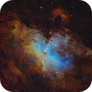 M16 The Eagle Nebula,                                Peter Shah