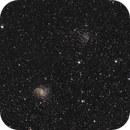 NGC 6946 - The Fireworks Galaxy (HaRGB) and NGC 6939,                                Benny Colyn