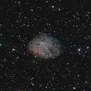 M1 - The Crab Nebula,                                NocturnalAstro