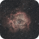 Rosette Nebula in HaRGB,                                Christophe Perroud