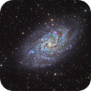 Triangulum Galaxy - M33,                                DeepSkyView