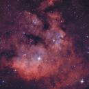 NGC7822 - BiColor,                                Hartmuth Kintzel