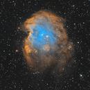 Monkey Head Nebula (NGC 2174) w. RGB Stars,                                Temu Nana