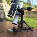 Telescopes. SkyWatcher 250/1200 and Orion Optics UK VX10L on EQ8 Pro,                                Pedro Garcia