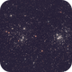 NGC 869, NGC 884 - Perseus Double Cluster,                                Kathy Walker