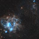 NGC 1763 in the LMC,                                Chris Parfett @astro_addiction