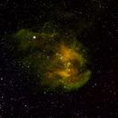 Lambda Centauri Nebula in narrowband,                                yusbot