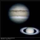 Jupiter and Saturn 2019 may 21,                                rmarcon