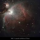 the depth of M42,                                gabriel
