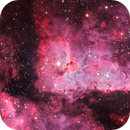 NGC 3372, aka Keyhole Nebula in Carina,                                José Joaquín Pérez